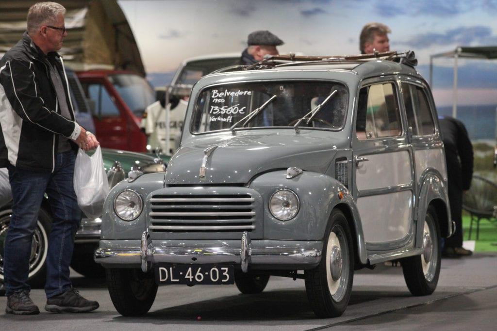 Fiat 500 Belvedere (1950)
