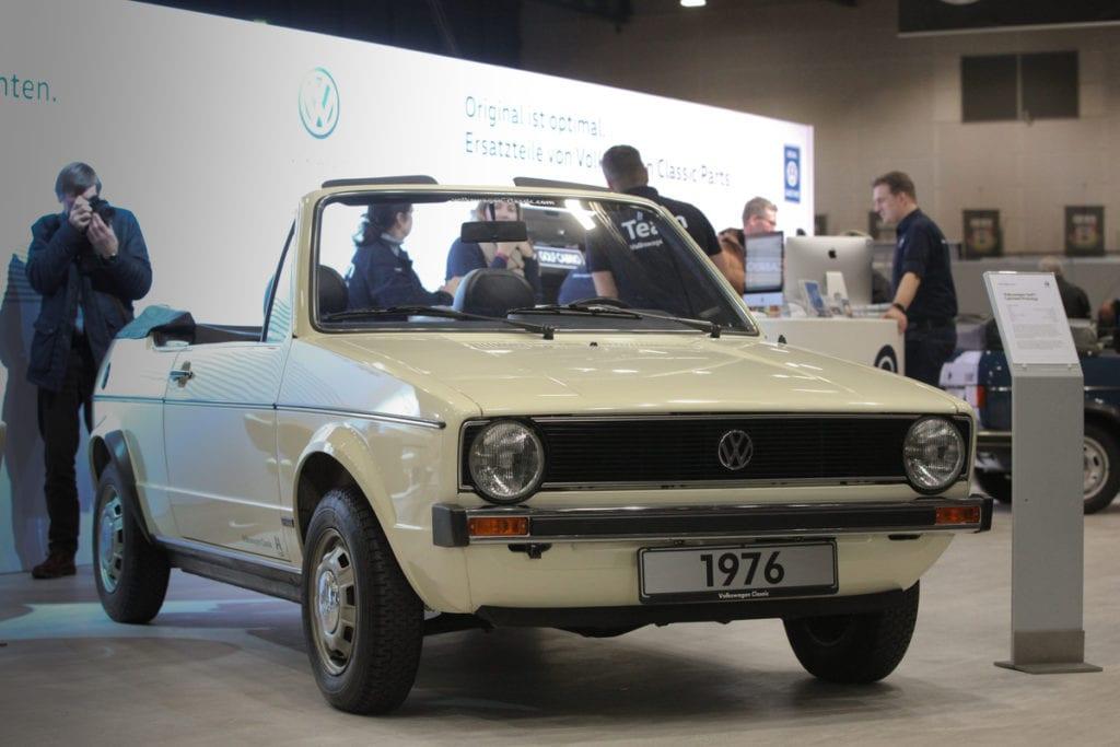 VW Golf 1 Cabriolet Prototyp (1976)