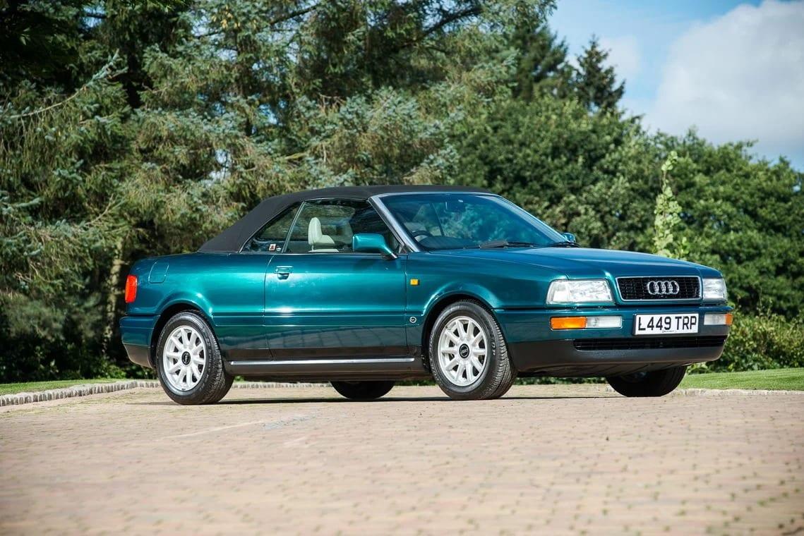 Почувствуй родство с королевской семьей Британии через кабриолет Audi 80, принадлежавший принцессе Диане